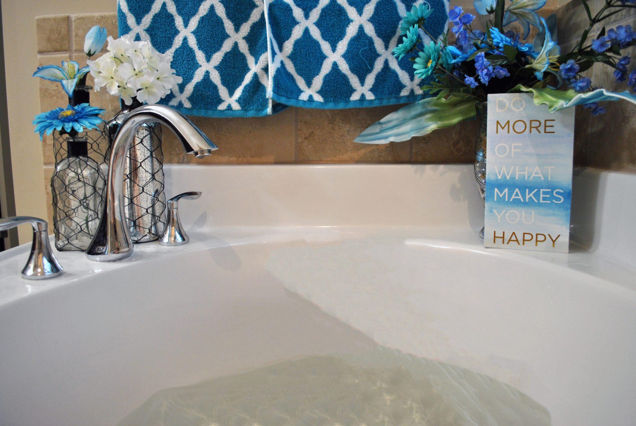less stress bathroom remodel