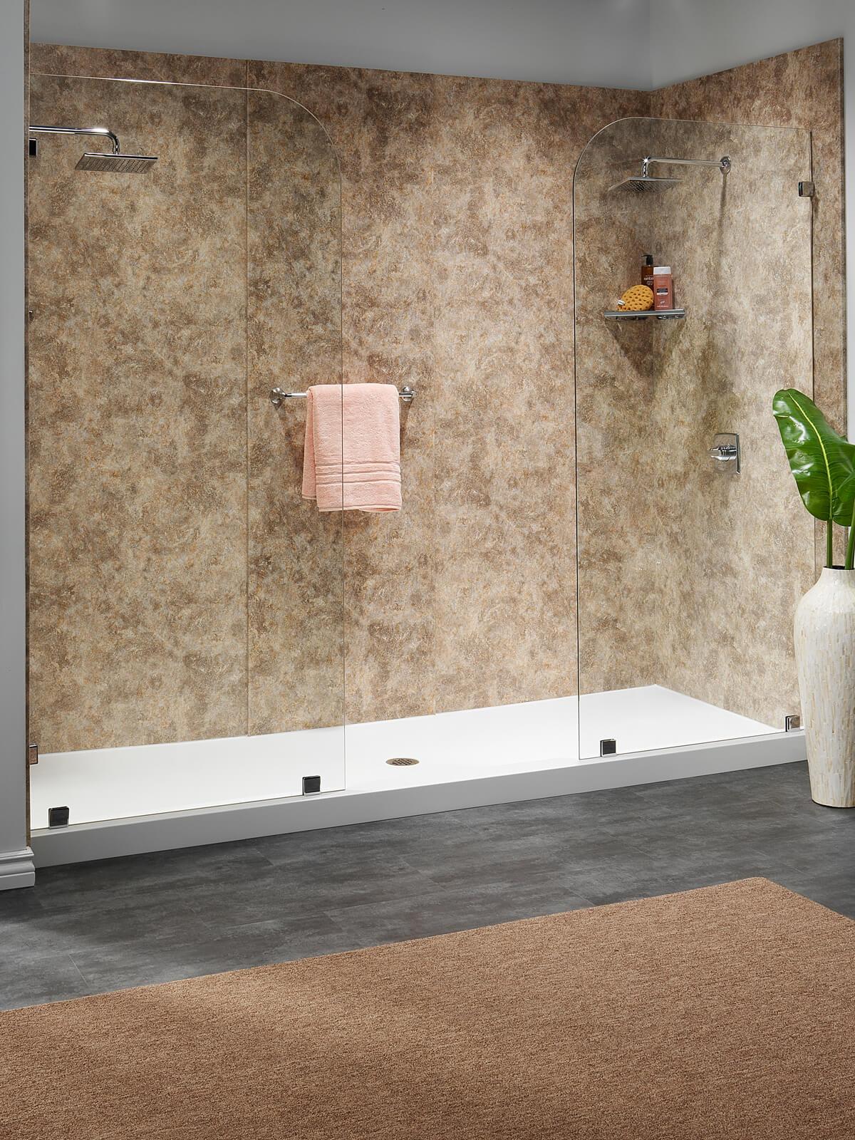 Large shower renovation